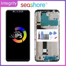 Original For XIAOMI Redmi Note 6 Pro LCD Display Touch Screen Digitizer For Xiaomi Redmi Note 6 Display with Frame Replacement srhe for xiaomi redmi note 6 case coverfor redmi note 6 pro vintage cloth fabric soft silicone full back cover for redmi note 6