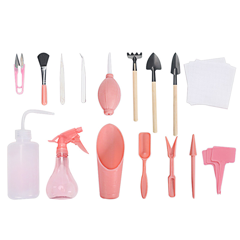 2 Colors of Succulent Transplanting Tools Combination of Flower Packaging Mini Gardening Supplies Potted Meat Tools Garden Tools