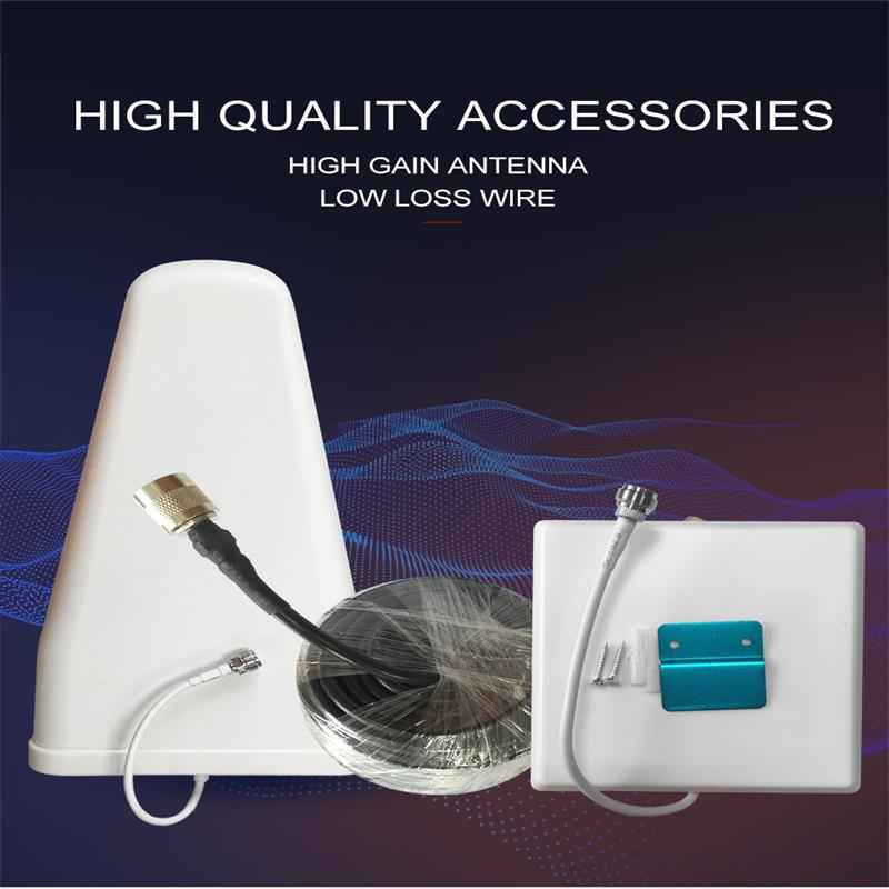 Factory Wholesale Signal Amplifier Accessories Indoor Antenna Outdoor Antenna And Connecting Optical Cable
