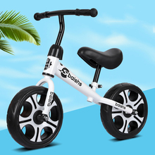 2-6 Years Old Children 12-inch Balance Bike Two-wheel Walker Outdoor Sports Bicycle Kid Toy Non-inflatable Scooter for Kids