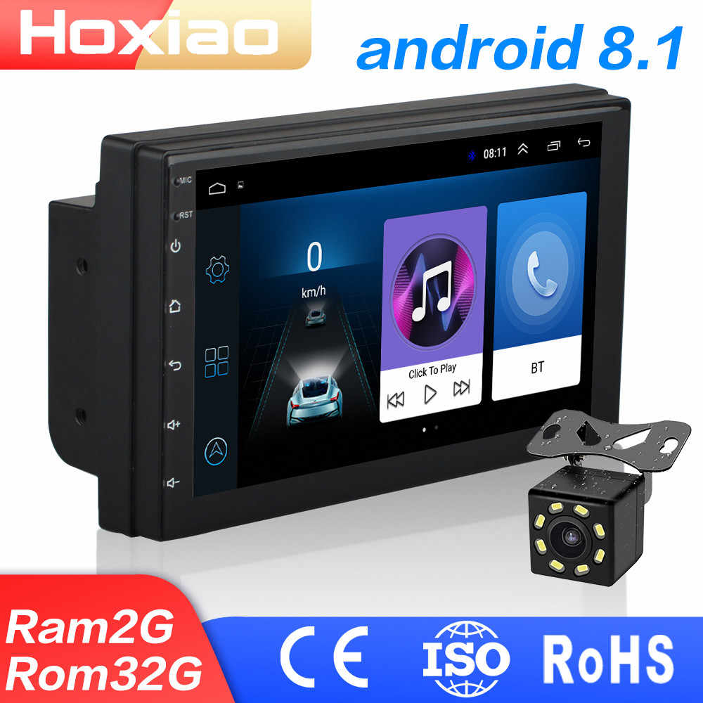 "2 DIN Android 8.1 Car Radio Stereo Tidak Ada DVD 7 ""1024*600 Universal Mobil Player Gps Navigasi WIFI bluetooth USB Radio Audio Player"