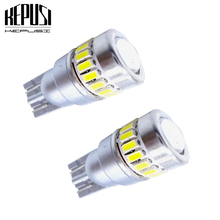 2x CANBUS T10 W5W LED Car Light Interior Light Lamp Map Dome Bulb Exterior License Plate Light White for opel astra k zafira цена