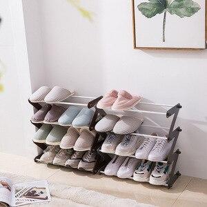 Home Convenient Multi-Layer Simple Shoe Multi-Purpose Assembly Shoes Debris Storage Rack Moisture-Proof Durable Storage Shoe Rac
