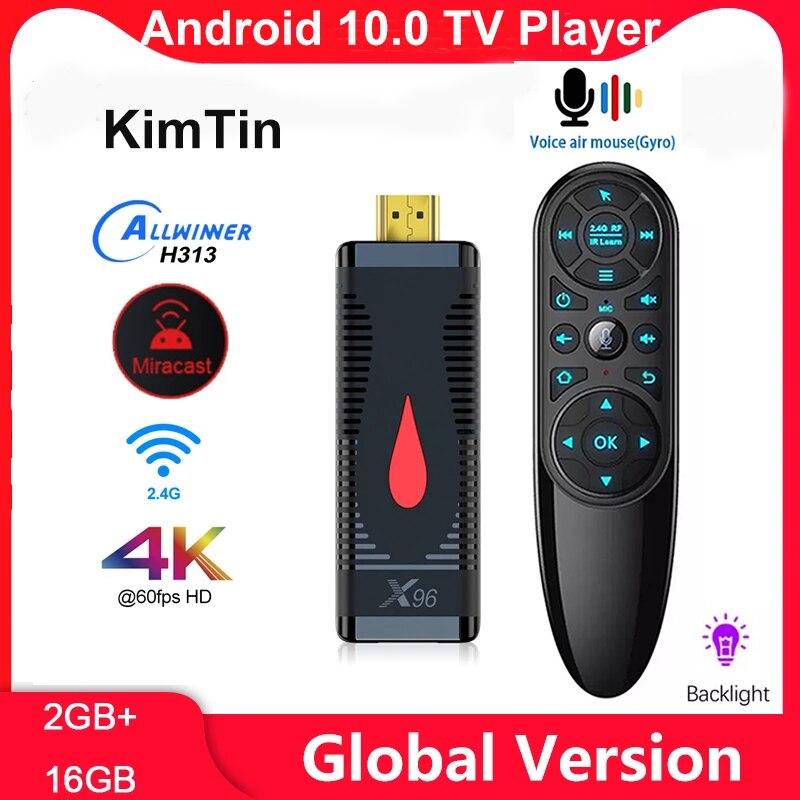 ТВ-приставка X96 S400, Android 10, Allwinner H313, 4 ядра, 4K, 60 кадров/с, H.265, 2,4 ГГц, Wi-Fi, Google Player, Youtube, 2 ГБ, 16 ГБ, ТВ-приставка X96 S, Новинка