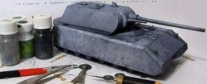 1:35 1:50 World Tank Maus немецкая гигантская крысиная Тяжелая бумажная модель DIY креативная 3D бумажная модель Детская образовательная игрушка для вз...