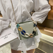Women Shoulder Bag Crocodile Fashion Ladies Handbags Shell Decoration Youth Female Messenger Bag Exquisite Work Bag High Grade