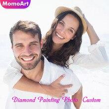 MomoArt Photo Custom Diamond Painting Beading Embroidery Cross Stitch Full Square Mosaic Picture Of Rhinestones Decor