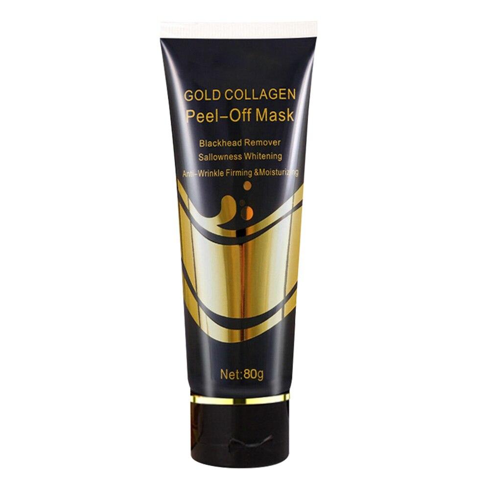 Cream 24k Gold Lifting Face Mask Shrink Pore Moisturizing Skin Care Firming Brighten Blackheads Remove Multifunctional Peel Off