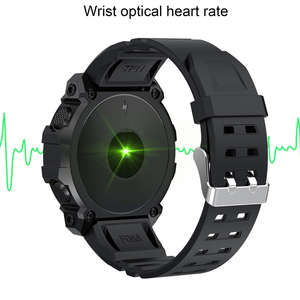 Image 4 - ساعة ذكية للرجال والنساء ، ساعة ذكية مع أوضاع رياضية متعددة ، مع التحكم في الموسيقى ، ومعدل ضربات القلب ، ومراقبة الأكسجين في الدم ، وساعة مستديرة
