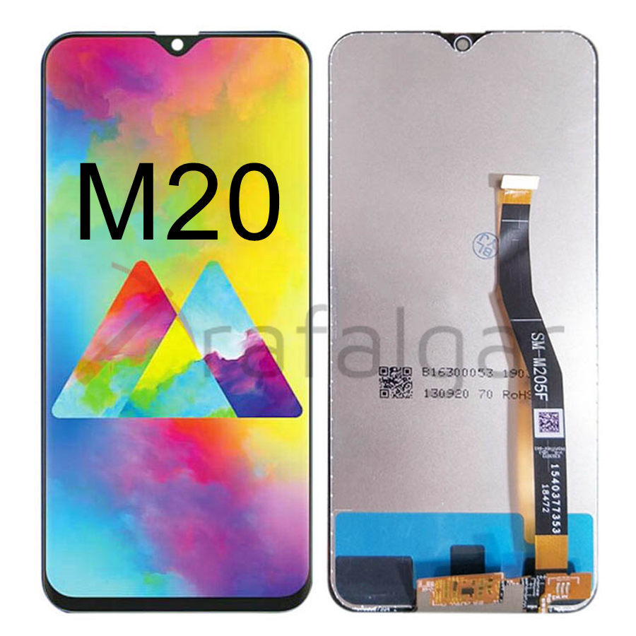Image 2 - For SAMSUNG GALAXY M20 LCD Display Touch Screen Digitizer  Assembly With Frame M205 M205F/DS M205FN/DS M205G For SAMSUNG M20  LCDMobile Phone LCD Screens