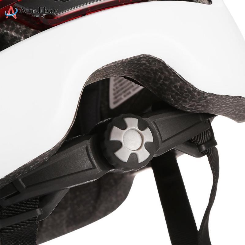 Image 3 - Электрический скутер защитный шлем с Предупреждение светильник для Xiaomi M365 профессиональный самокат электрический скейтборд Ninebot Es1 E2 Mijia M365 скутер Запчасти-in Детали и аксессуары для скутера from Спорт и развлечения