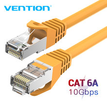 Tions CAT6A Ethernet Kabel SSTP RJ45 Lan Netzwerk Kabel 10 Gigabit High Speed 500MHz Cat6 eine Patchkabel für modem Router Kabel(China)