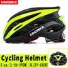 Kingbike capacete de bicicleta ultra leve, capacete de ciclismo mtb cpsc com luz traseira e luz de carbono, cor para ciclismo 14