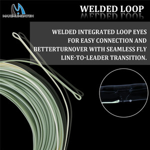 Image 4 - Maximumcatch Outbound 6/7/8/9/10wt Short Fly Fishing Line 100FT Weight Forward Saltwater Fly Line With 2 Welded Loops