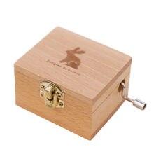 2020 новая деревянная музыкальная шкатулка праздничный подарок