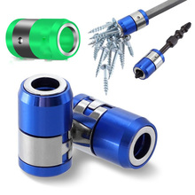 Batch-Head Magnetic Screwdriver-Head with Ring-6.35mm Strong-Tip General-Purpose Metal