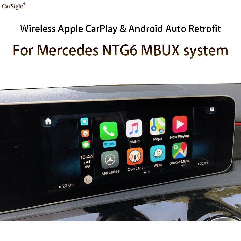 Carplay Airplay Mirror Link Duallink решение для Mercedes X class BR470 / A class W177 автомобильный OEM навигация после 2017 MY