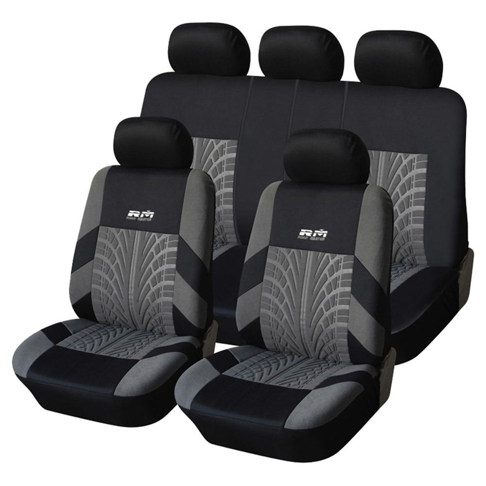 Full Coverage flax fiber car seat cover auto seats covers for suzukialto baleno grand vitara liana sx4