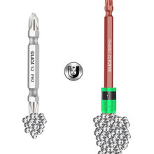 Screwdriver-Bit Bits Magnetism-Ring Laoa S2 with And 1/4-
