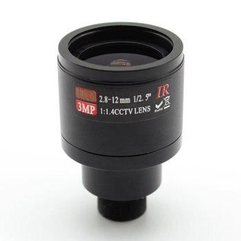 HD 3MP 2.8-12mm CCTV Lens Manual Focal Zoom 1/2.5 MTV 2.8mm-12mm 3.0Megapixel for Camera local focal manual simple beaded handbag