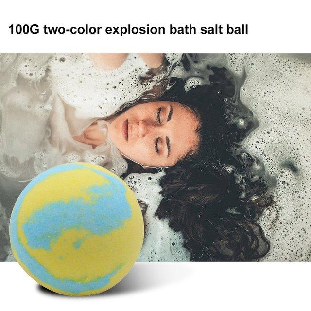Multicolor Bath Ball Home Hotel Bathroom Spa Body Cleaner Bubble Fizzer Bath Bomb Handmade Birthday Gift For Girlfriend 2