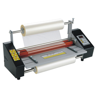 110V i9350T Multifunctional Laminating Machine Hot Cold Laminator Machine for A3 Document Photo Fast 