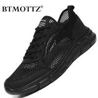 Zapatos de malla para Hombre, zapatillas ligeras para caminar, transpirables, con cordones, informales, de talla grande 48, para verano