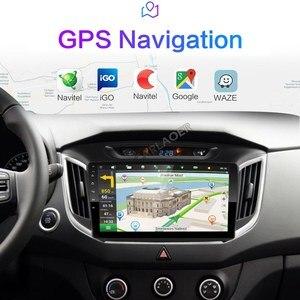 Image 5 - 2 Din Android 8,1 auto Radio multimedia player GPS Navigation Für hyundai ix25 creta 2015 2018 2GB RAM 32GB ROM 2din video Player