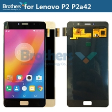 цена на LCD Screen for Lenovo P2 P2a42 LCD Display for Lenovo Vibe P2 P2c72 LCD Assembly Touch Screen Digitizer Phone Parts Replacement