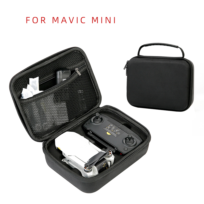 For DJI Mavic Mini Drone Accessories Nylon Bag Shockproof Waterproof Storage Box Protective Remote Control Battery Carrying Case