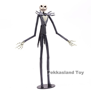Image 5 - Nightmare Before Christmas Deluxe Jack Skellingtonที่มีหัวAction Figureรูปที่สะสมของเล่น 35 ซม.