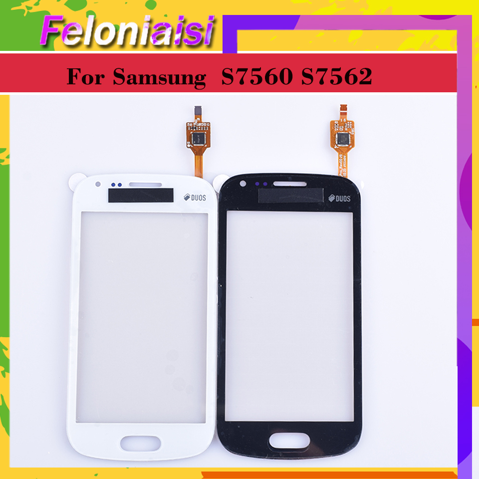 For Samsung Galaxy Trend DUOS S7560 S7562 GT-S7562 7562 7560 Touch Screen Panel Sensor Digitizer Front Touchscreen