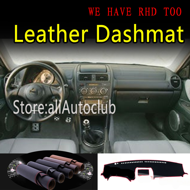 For lexus IS XE10 G1 is250 is300 for Toyota altezza 1998-2004 Leather Dashmat Car Styling Covers Dash Mat Dashboard Cover Carpet