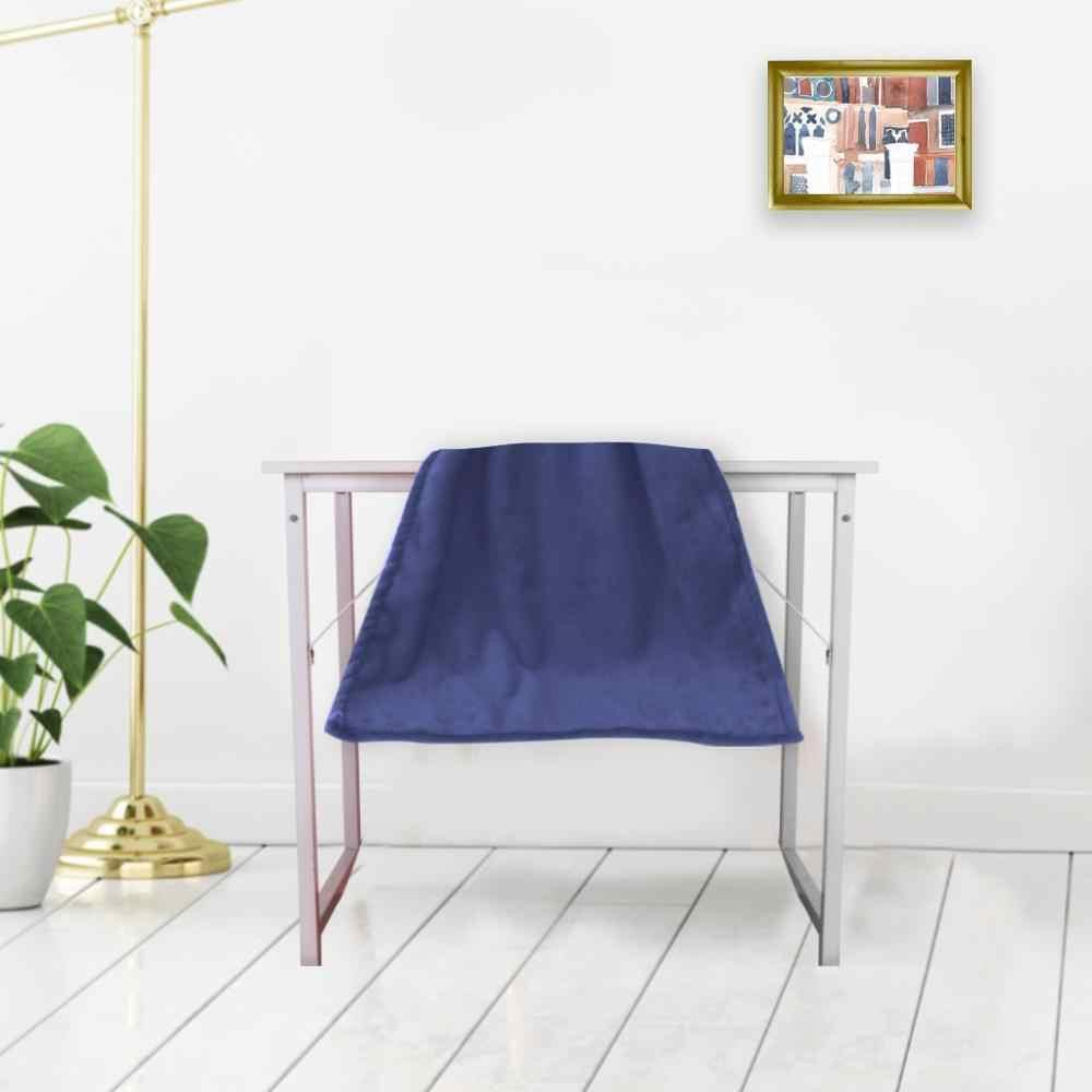 Solid Lembut Ruang Tamu Kamar Tidur AC Bed Selimut untuk Sofa Ranjang # T2