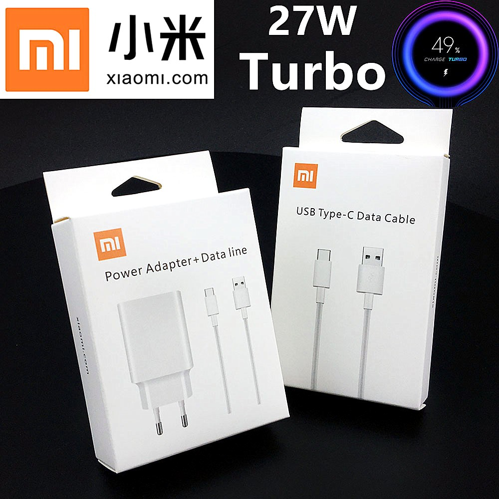 Xiaomi <font><b>Charger</b></font> <font><b>27W</b></font> Original QC 4.0 Fast Turbo Charge power adapter USB C <font><b>Mi</b></font> 9 9SE 9 T Pro Max 3 A3 Redmi Note 7 8 Pro <font><b>Mi</b></font> Note 10 image