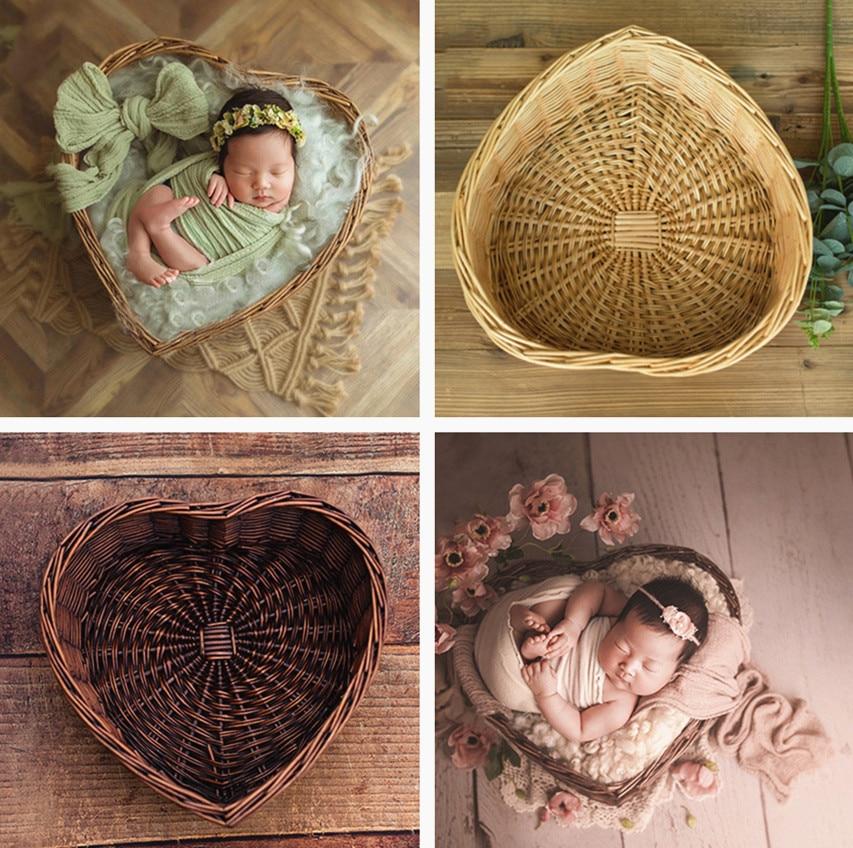 Fotografie Baby Requisiten Baby Schießen Studio Woven Accessori Korb Foto Requisiten Baby Neugeborenen Fotografie Prop Neugeborenen Accessori