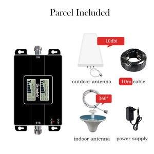 Image 5 - Lintratek двухдиапазонный UMTS CDMA 850 3G 1800 4G 1700 1900 усилитель сигнала 2100 МГц для мобильного телефона 850 МГц повторитель усилитель комплект LCD s7