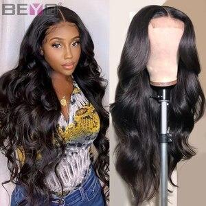 360 peruca frontal do laço pré arrancado com o cabelo do bebê onda do corpo brasileiro do laço frente perucas de cabelo humano para as mulheres peruca do laço beyo remy cabelo
