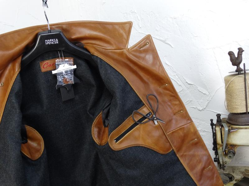 He7cc3184344b4fb88a7395fbb554e930p YR!Free shipping.Italy Oil Wax Cowhide coat.Helix Rider genuine leather jacket,winter men vintage brown leather jacket.sales