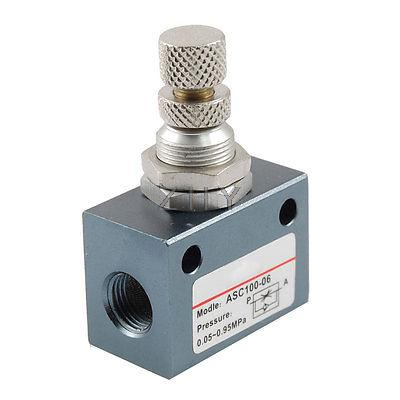 "PT 1//8/"" rosca diámetro de una manera válvula de control de flujo ASC100-06"