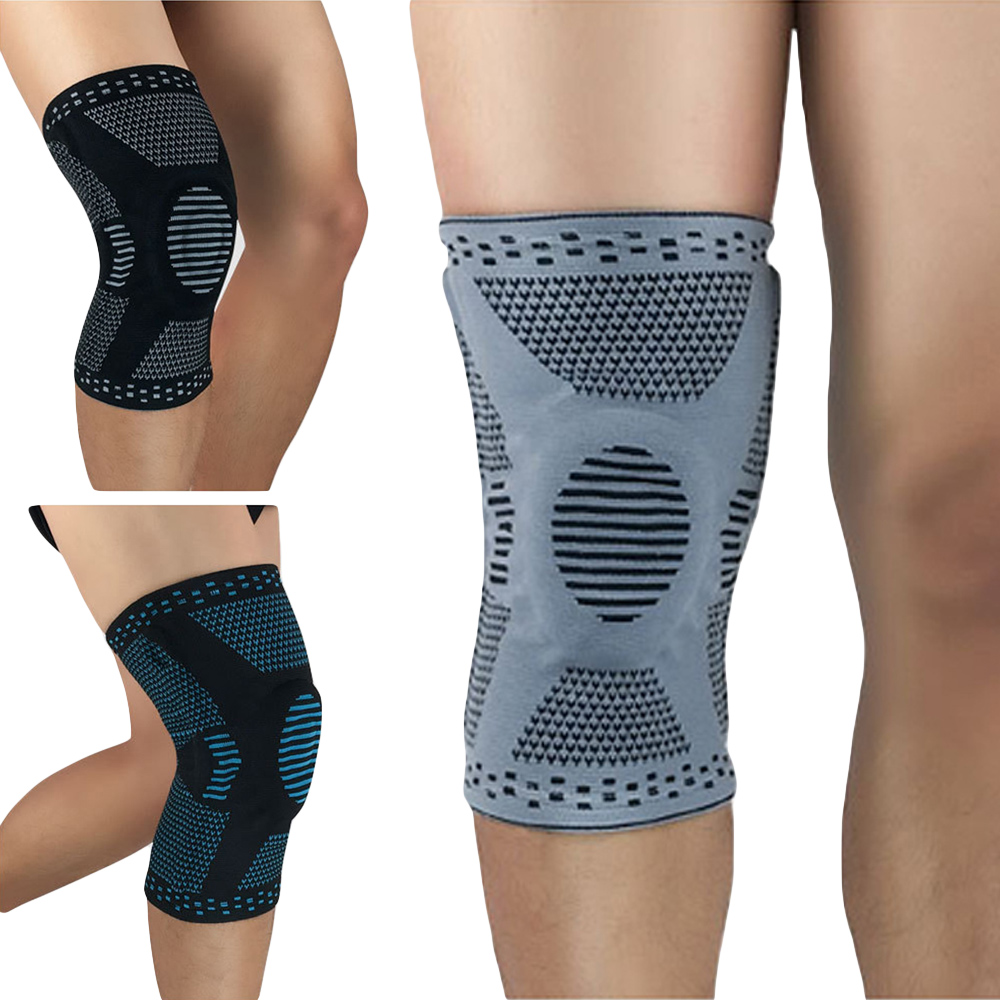 Elastic Sports Knee Protection Spring Support Knee Pads Support Brace Training