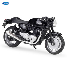 WELLY 1:18    TRIUMPH Thruxton 1200     Diecast Alloy Motorcycle Model Toy For Children Birthday Gift Toys Collection welly 1 18 yamaha yp240dx diecast alloy motorcycle model toy for children birthday gift toys collection