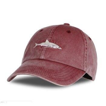 Baumwolle Angeln Hut Outdoor Freizeit Stickerei Kappe Männer Atmungsaktiv UV Angeln Hüte Laufen Wandern Sport Golf Mesh Caps-in Fischermütze aus Sport und Unterhaltung bei