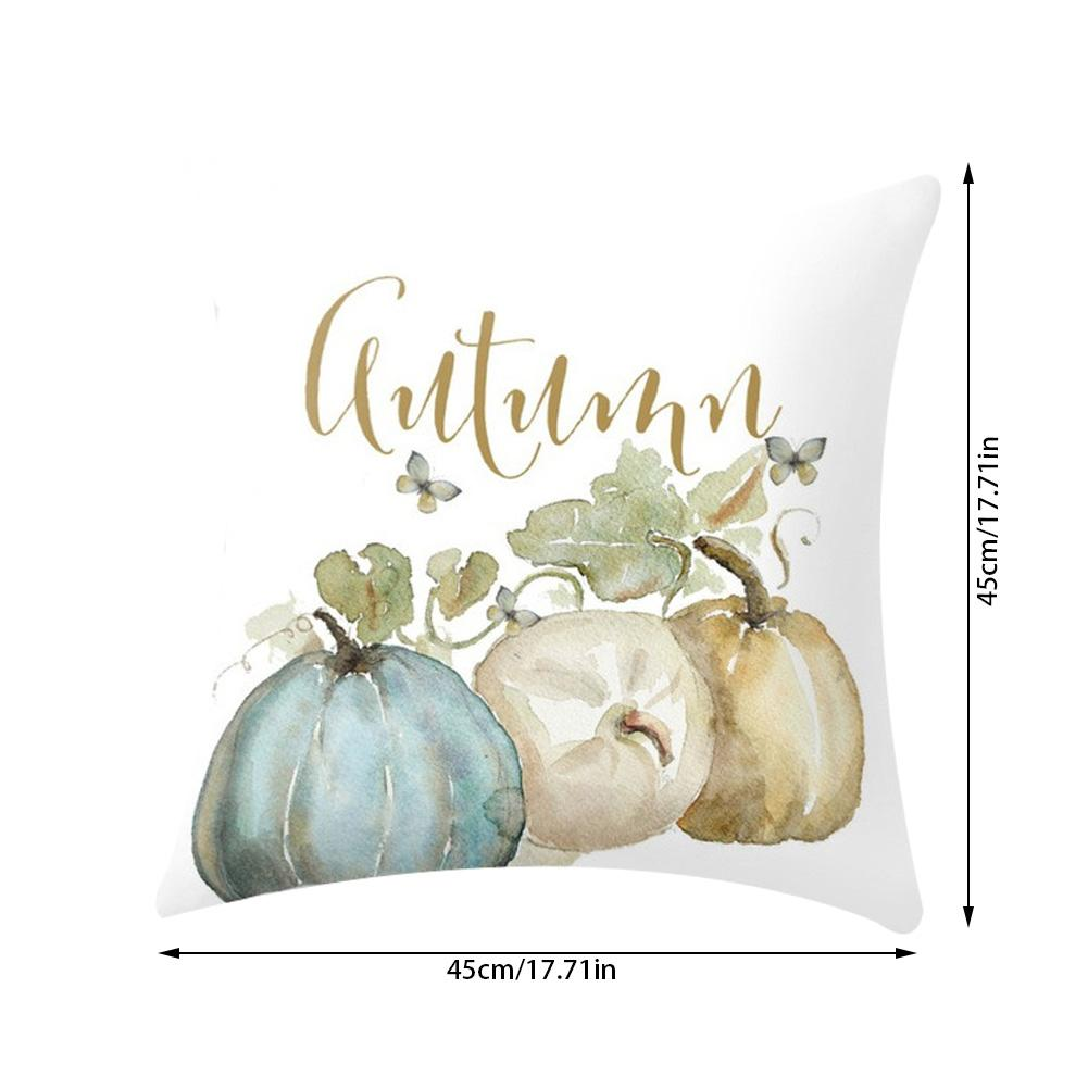 Halloween Thanksgiving Pumpkin pillows Cover Decoration Pillow Cushion Durable and Washable Pillow Case for Home Office Car in Pillow Case from Home Garden
