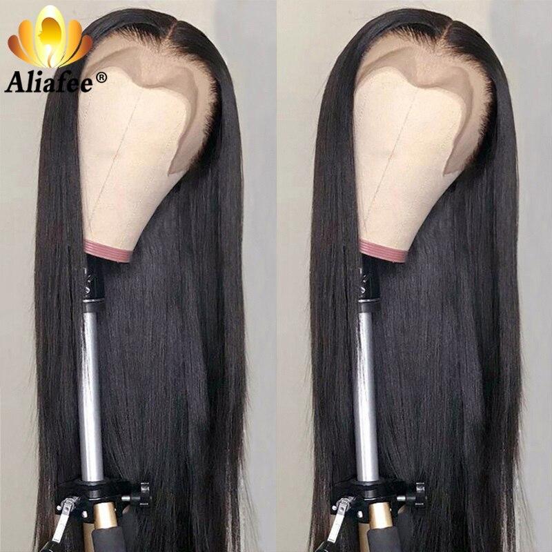 remy cabelo peruca reta fechamento do laço peruca para preto