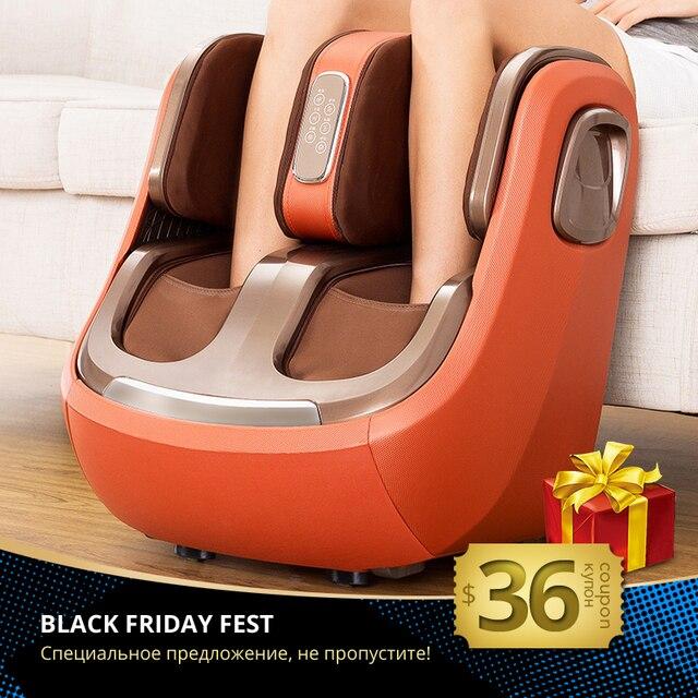 חשמלי רגל ורגל והברך לעיסוי אינפרא אדום חימום רגליים עגל עיסוי מכונה אוויר לחץ אוויר דחיסה Massagem