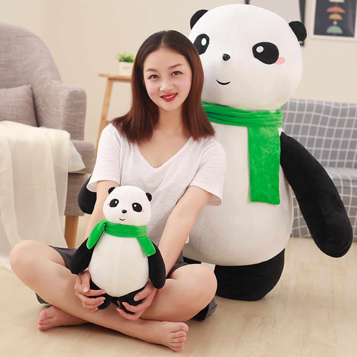 Panda ตุ๊กตาตุ๊กตาตุ๊กตาตุ๊กตาตุ๊กตาหมอนสีดำและสีขาวขนาดใหญ่ Bear Hug Girl'S ตุ๊กตาสาวนักเรียน