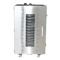 16 layers Food dehydrator Commercial food dryer ST 02 Stainless steel fruits/ vegetables/meat drying machine 220V 1500W 1pc