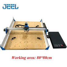 CNC Router Machine 80*80cm working ares for Wood Acrylic Carving Arts Crafts DIY 3 Axis Milling Cutting Engraving Machine