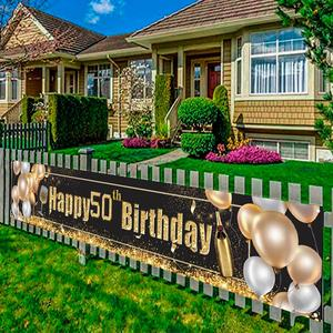 Image 2 - Black Gold Set Cheers Beers to Happy Birthday 30 50 60 70 80 90 Years Birthday Decor Cheers to 40 Years Birthday Party Supplies